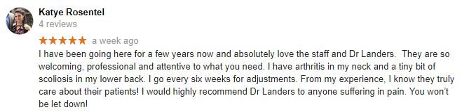 Concord NC Patient Testimonial
